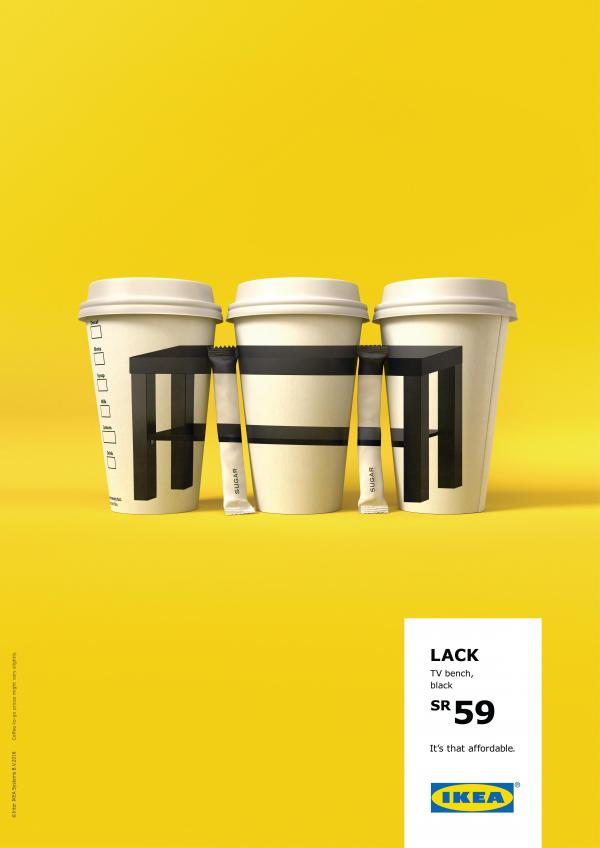 """IKEA. It's that affordable"" Campaign Reminds Us How Affordable Their Furniture Is"